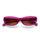 Sun Buddies Miuccia Sunglasses in Magenta