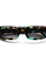 Sun Buddies Sun Buddies Serena Sunglasses in Aqua Tortoise
