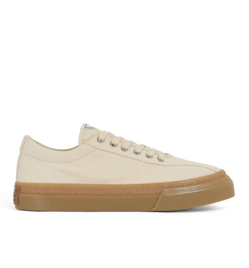 Stepney Workers Club Dellow Low Tops in Raw Canvas
