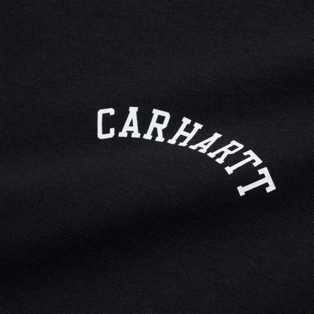 Carhartt Work In Progress University Script T-shirt in Black
