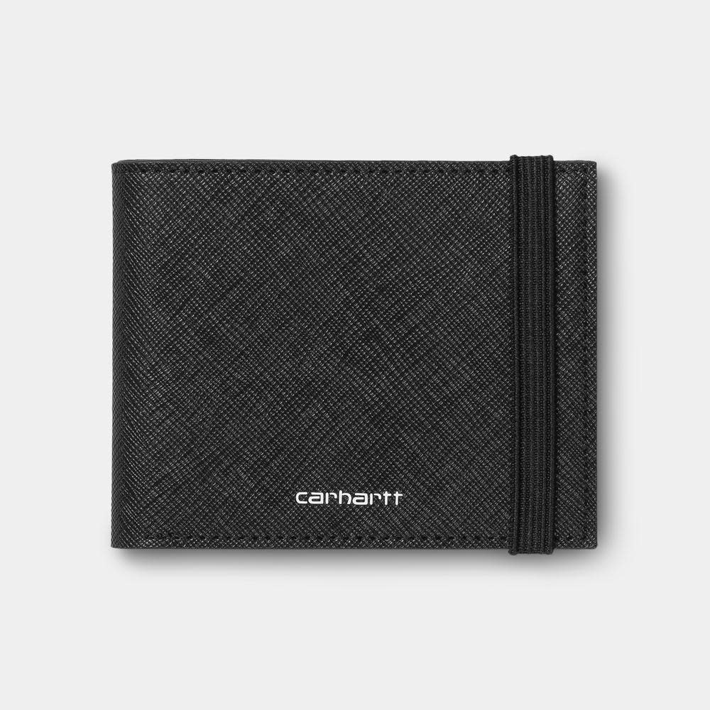 Carhartt Work In Progress Coated Billfold Wallet in Black