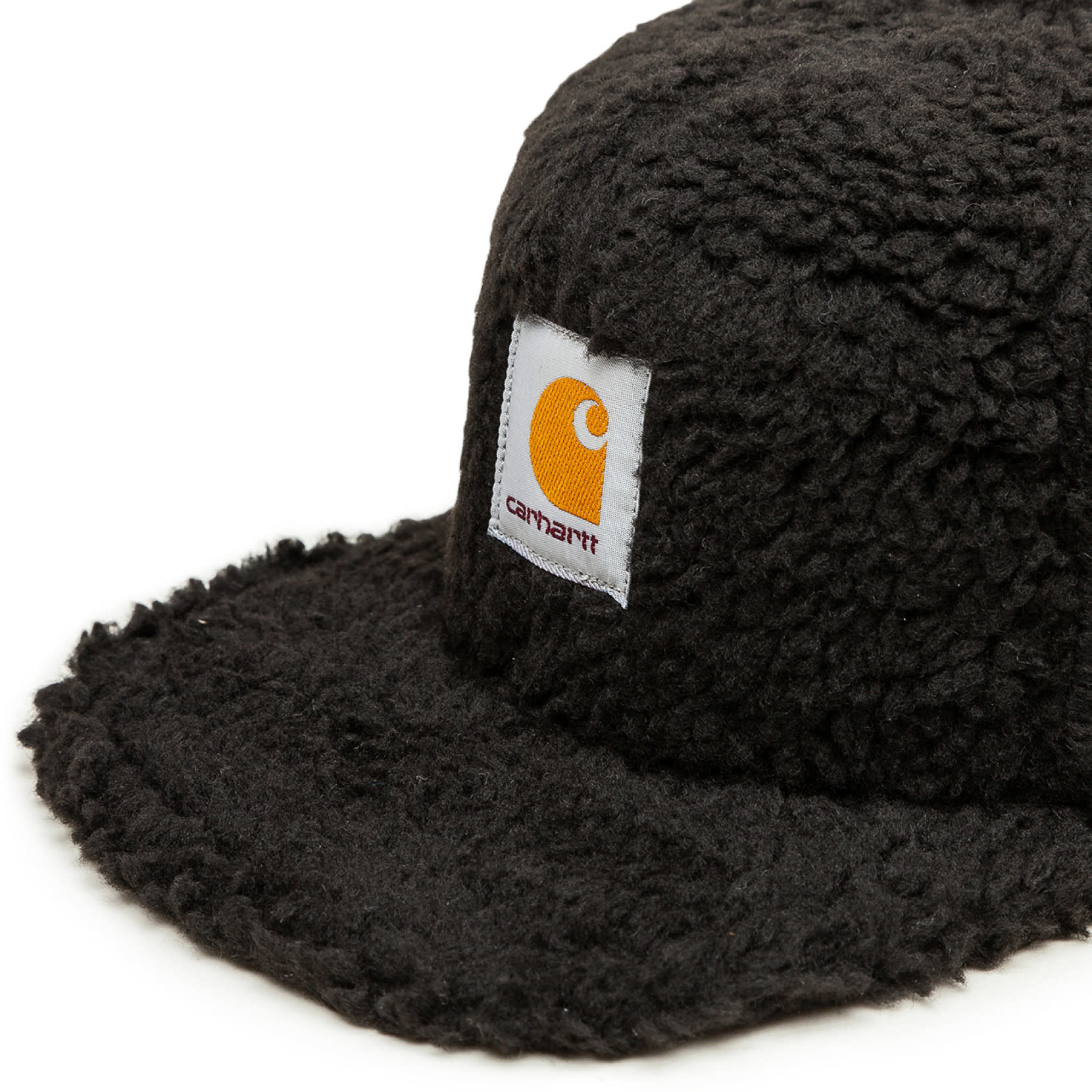 Carhartt Work In Progress Northfield Fleece Cap in Black