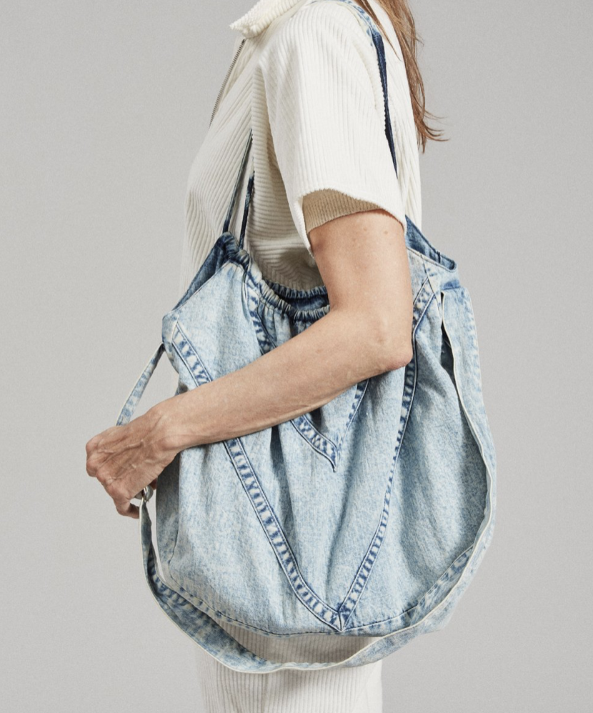 Rachel Comey Blini Bag in Acid Washed Sky