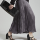 Rachel Comey Rachel Comey Oates Pleated Skirt in Charcoal