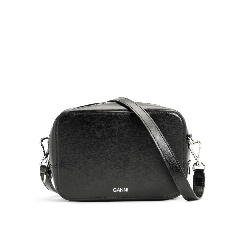 GANNI GANNI Small Leather Bag in Black