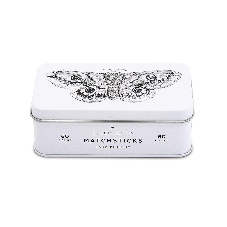 Moth Matchstick Tin