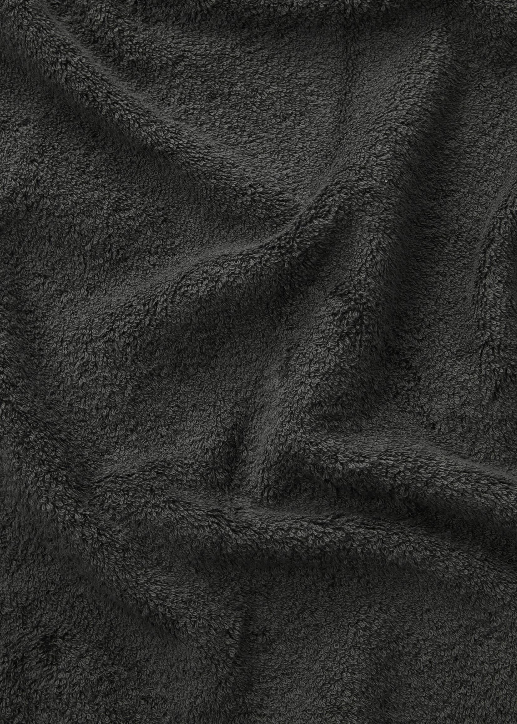 TEKLA Organic Hand Towel in Charcoal