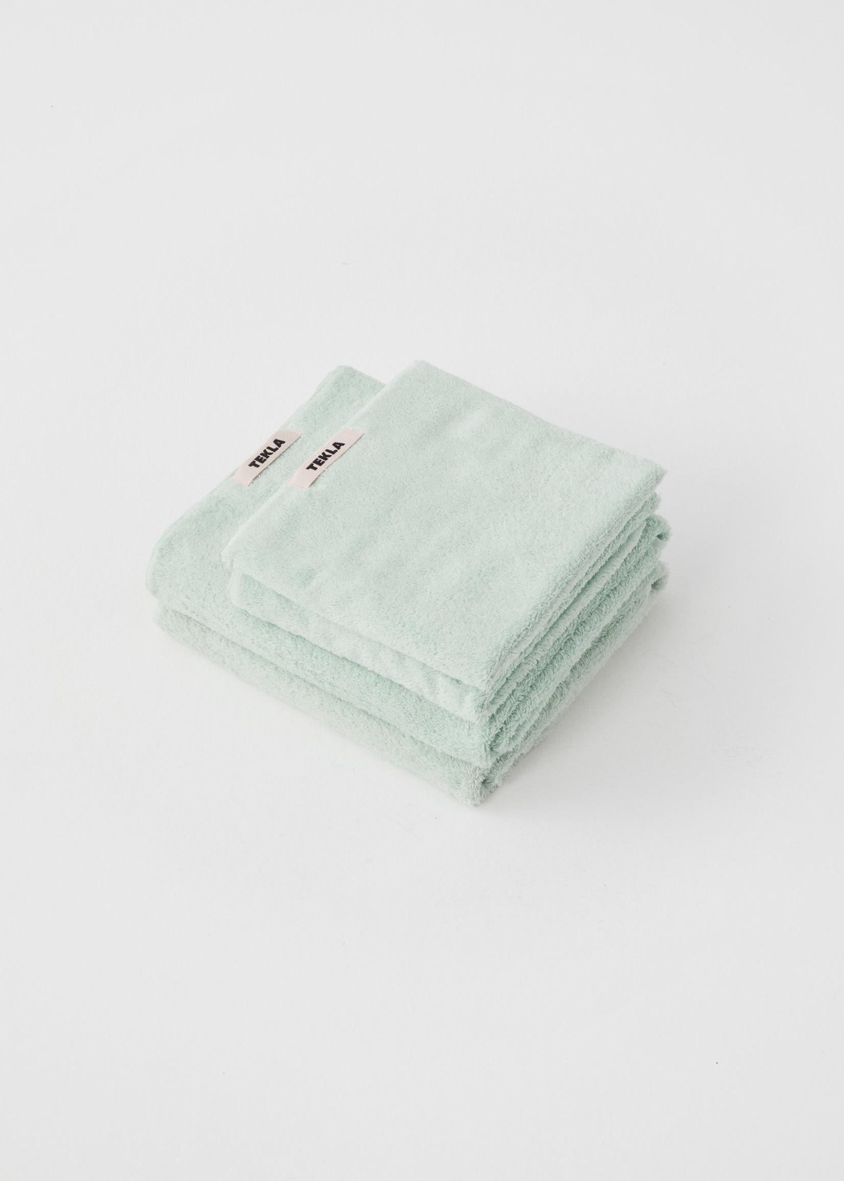 TEKLA Organic Bath Towel  in Mint