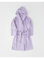 TEKLA TEKLA Unisex Hooded Terry Bathrobe in Lavender