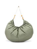 GANNI GANNI Recycled Nylon XXL Bag in Olive