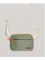 GANNI GANNI Recycled Tech Shoulder Bag in Olive