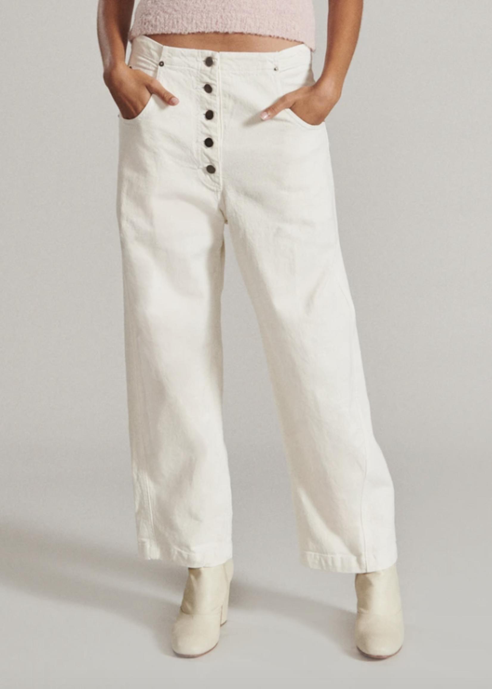 Rachel Comey Elkin Jean in Dirty White