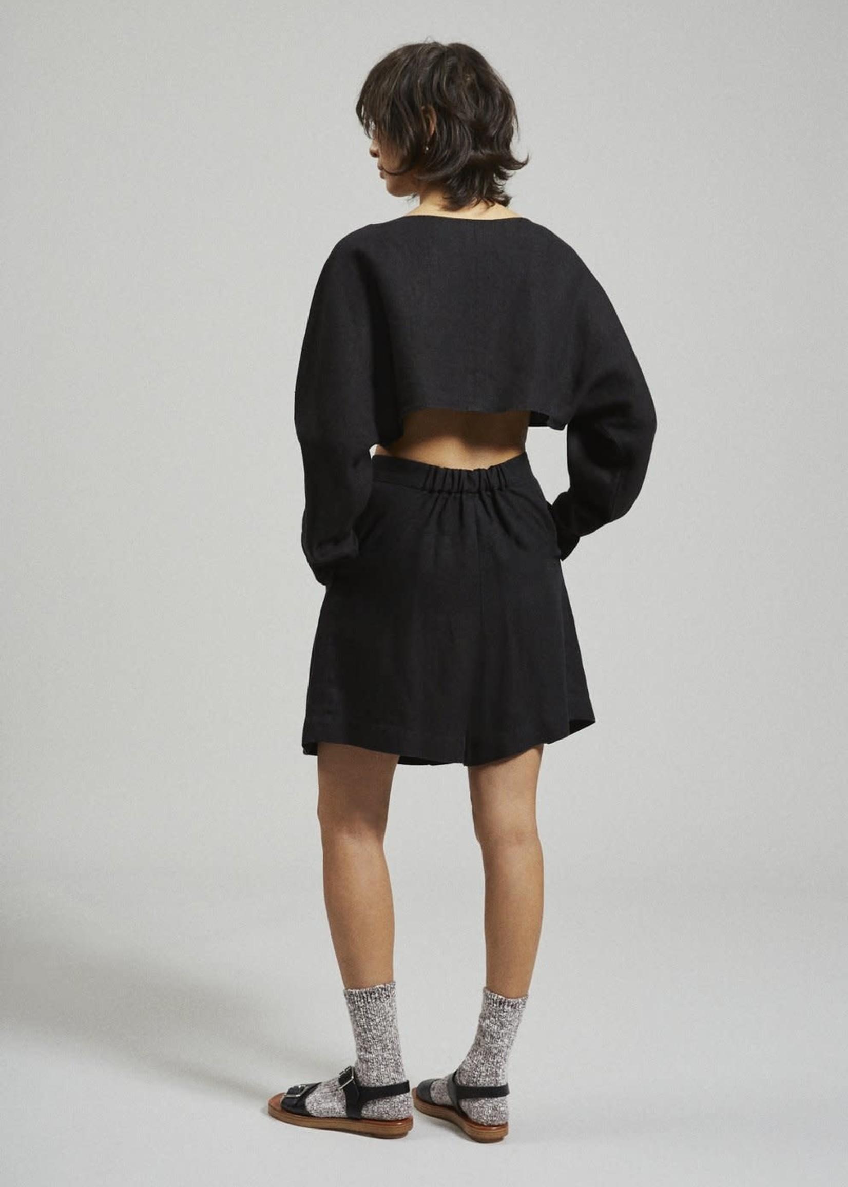 Rachel Comey Labriola Linen Top in Black