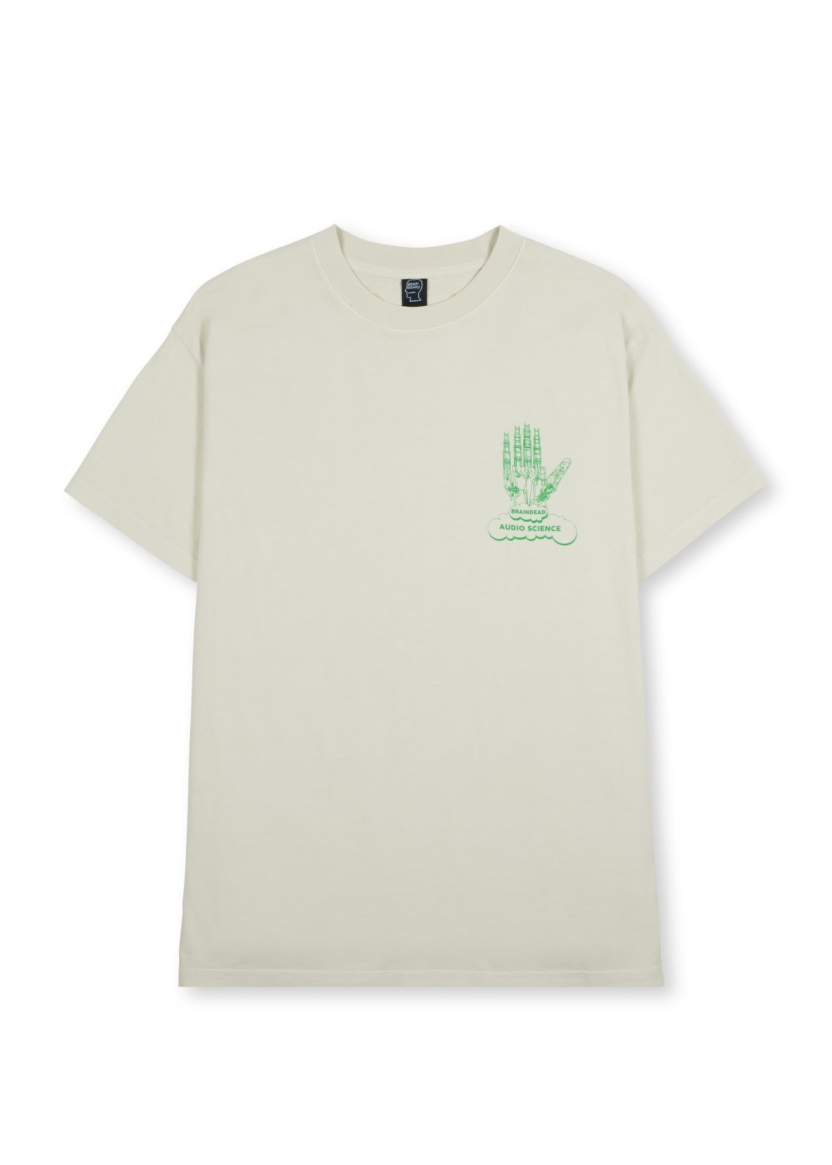 Brain Dead Audio Science T-shirt in Natural