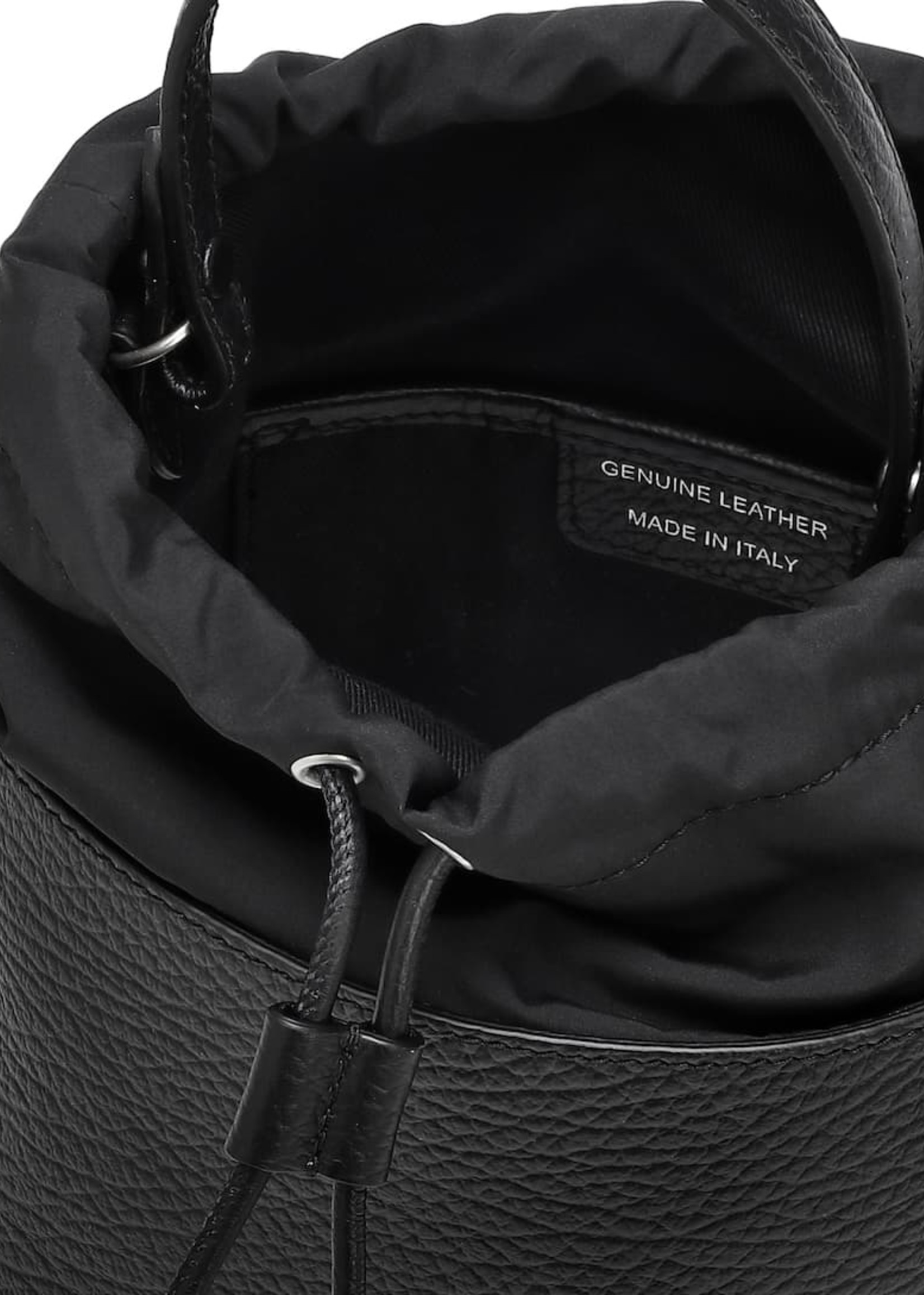 Maison Margiela 5AC Bucket Bag in Black