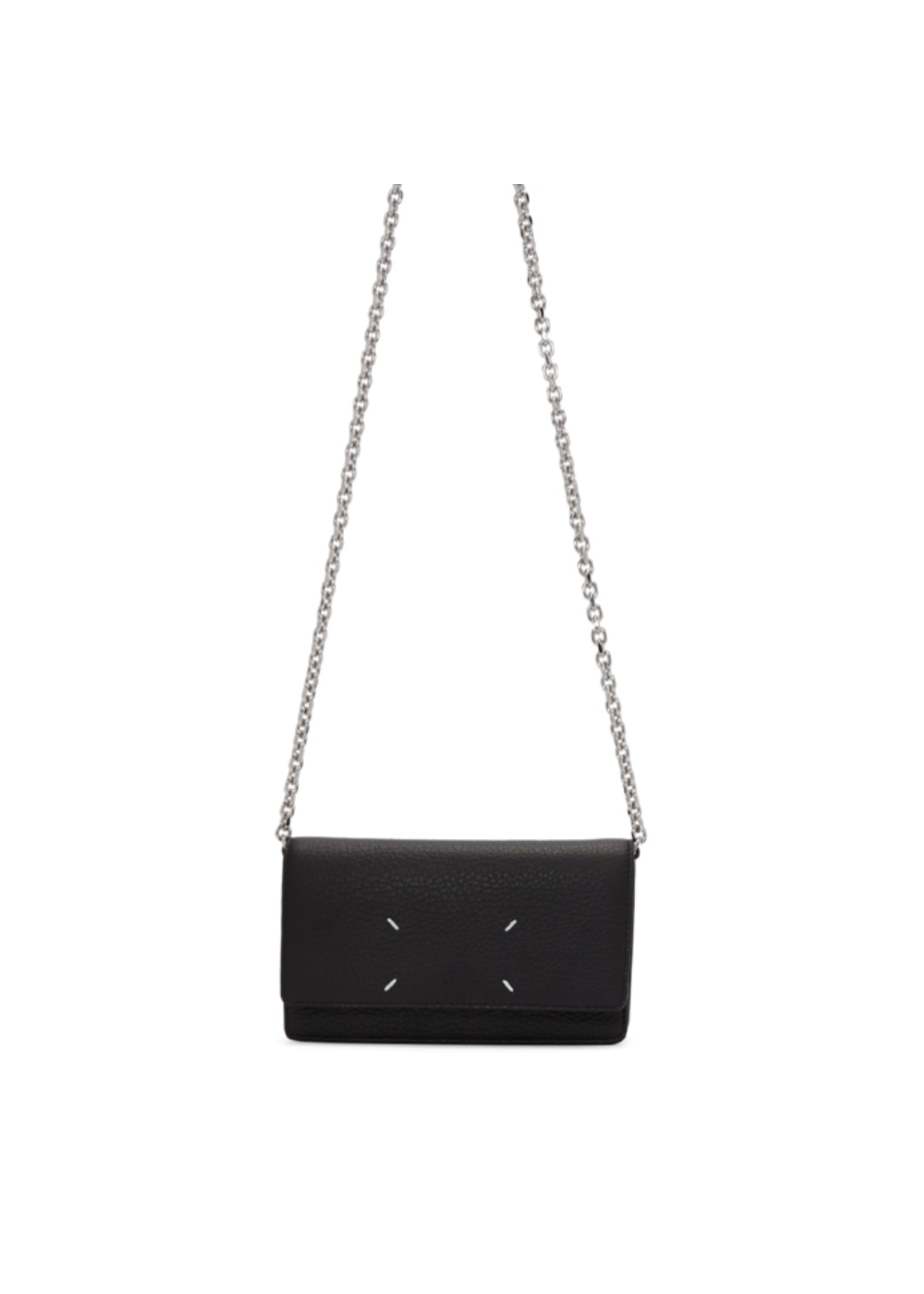 Maison Margiela Large Chain Wallet in Black