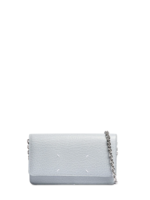 Maison Margiela Large Chain Wallet in Lake