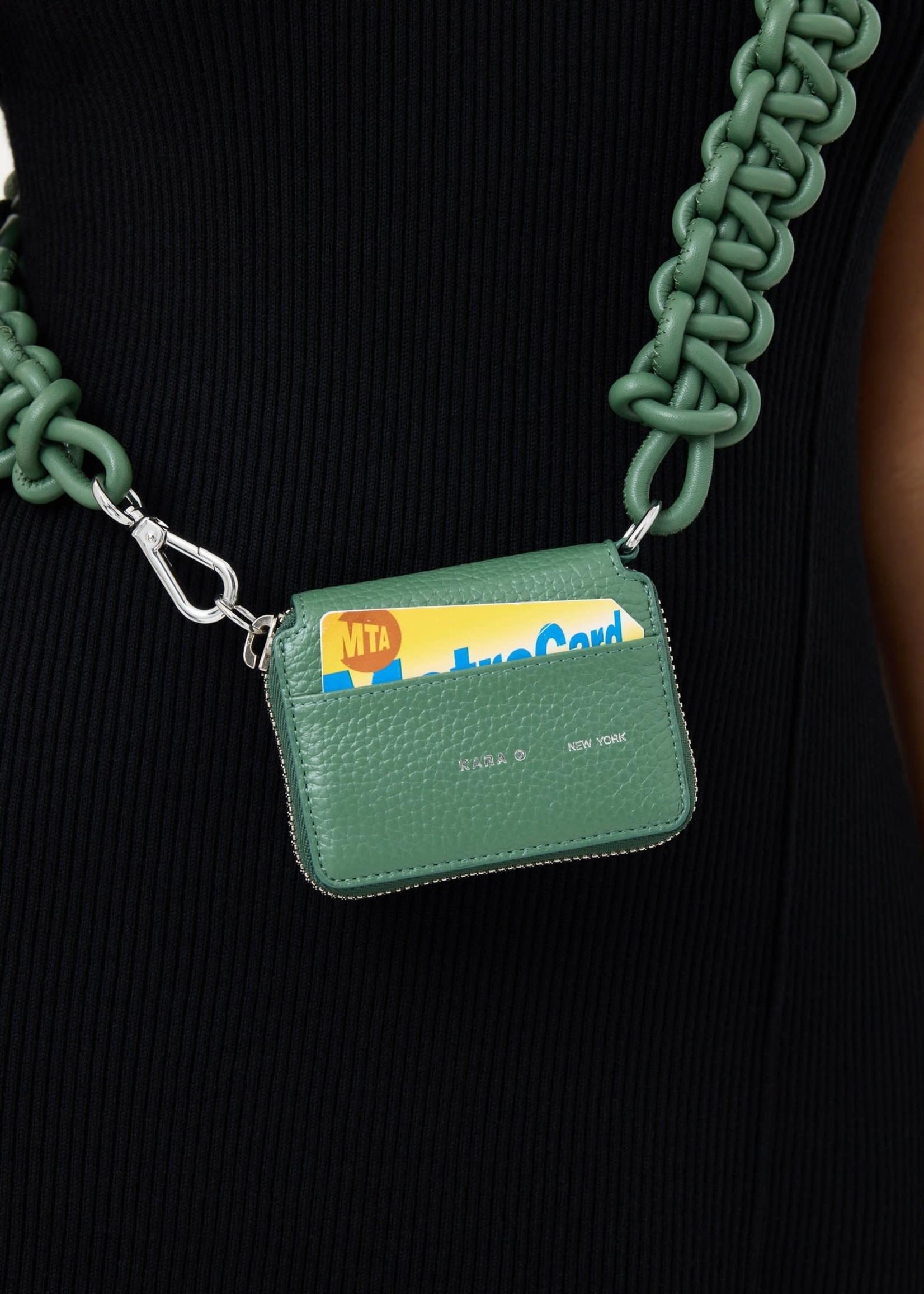 KARA KARA Cobra Bike Wallet in Celadon