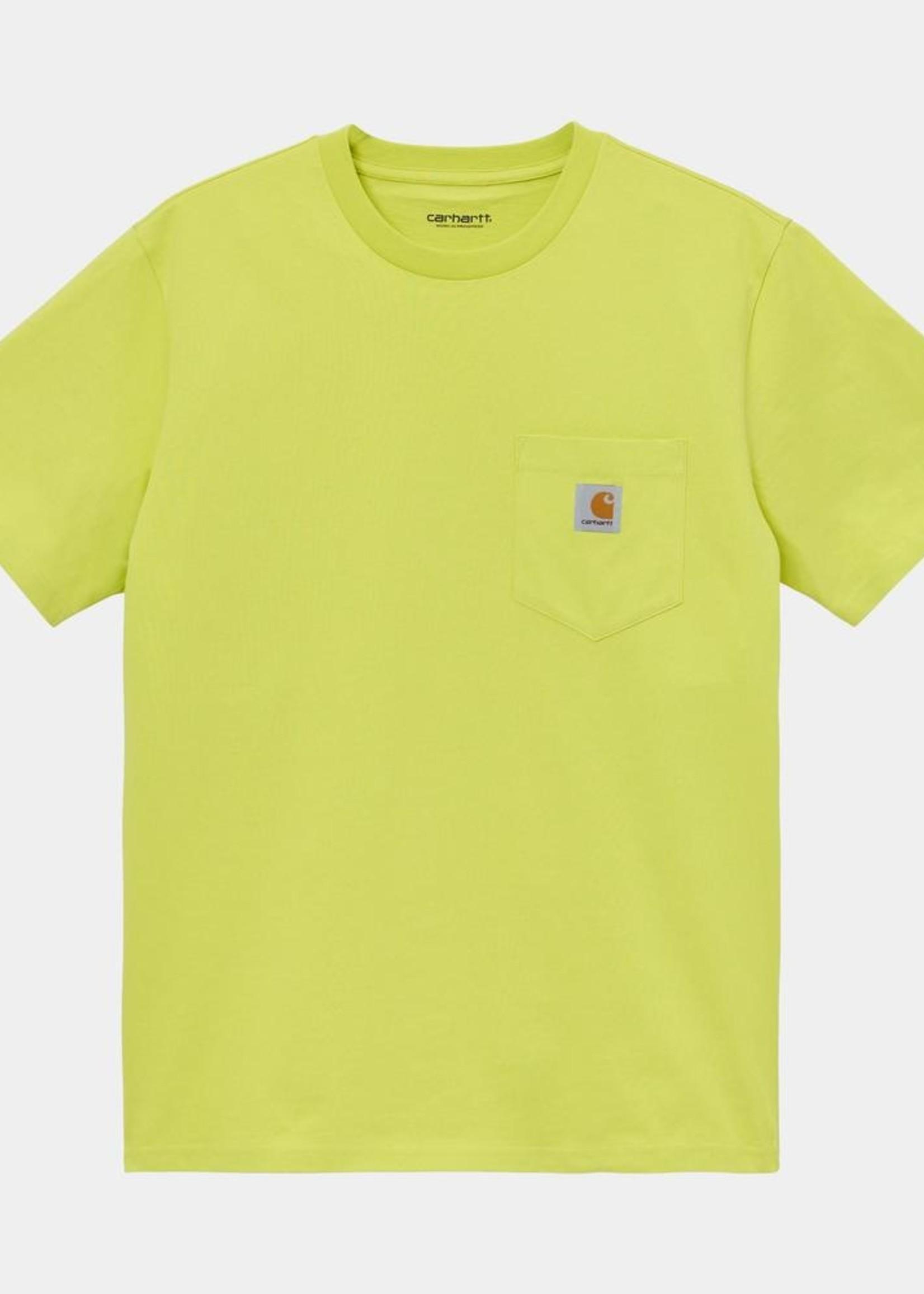 Carhartt Work In Progress Pocket T-shirt in Limeade