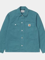 Carhartt Work In Progress Michigan Chore Coat in Teal