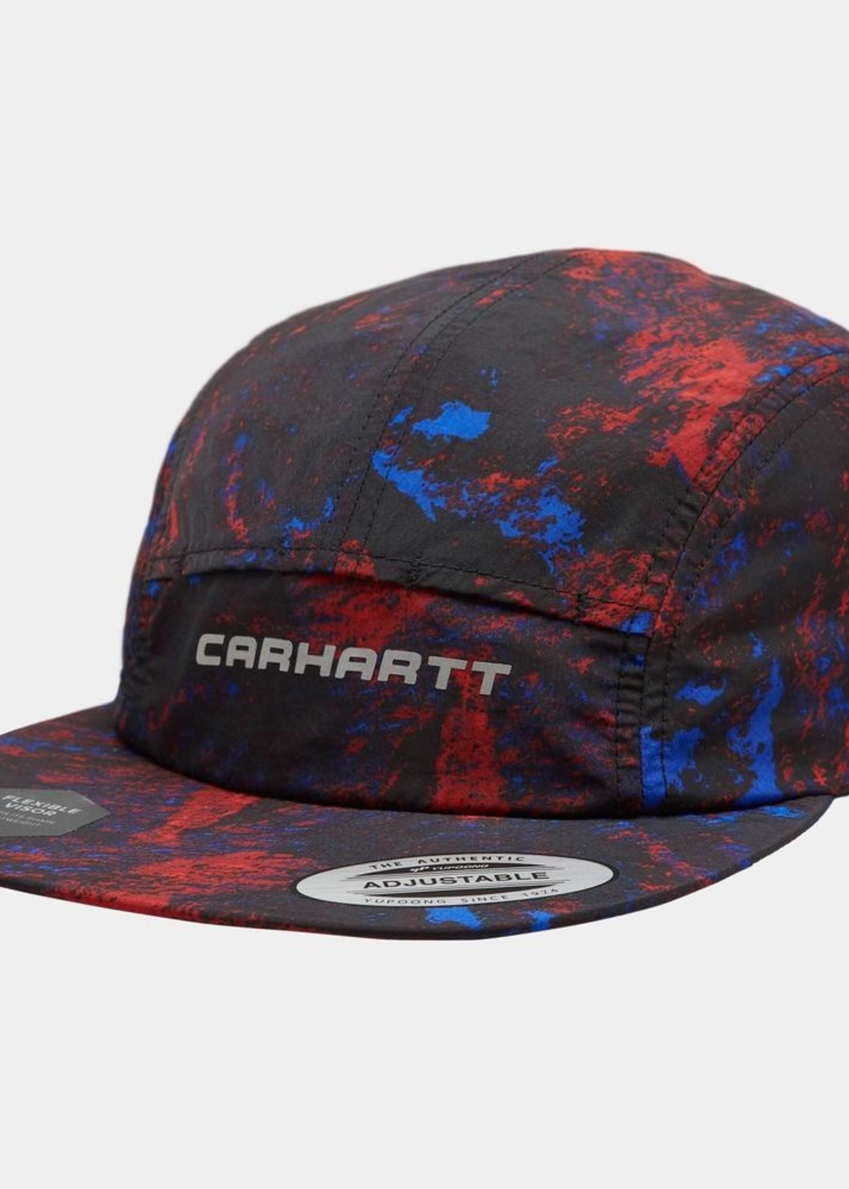 Carhartt Work In Progress Terra Nylon Cap in Black Satellite