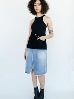 MM6 MAISON MARGIELA MM6 Maison Margiela Spliced Denim Skirt