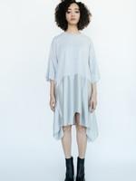 MM6 MAISON MARGIELA MM6 Maison Margiela Oversized Mirror Image Dress in Grey