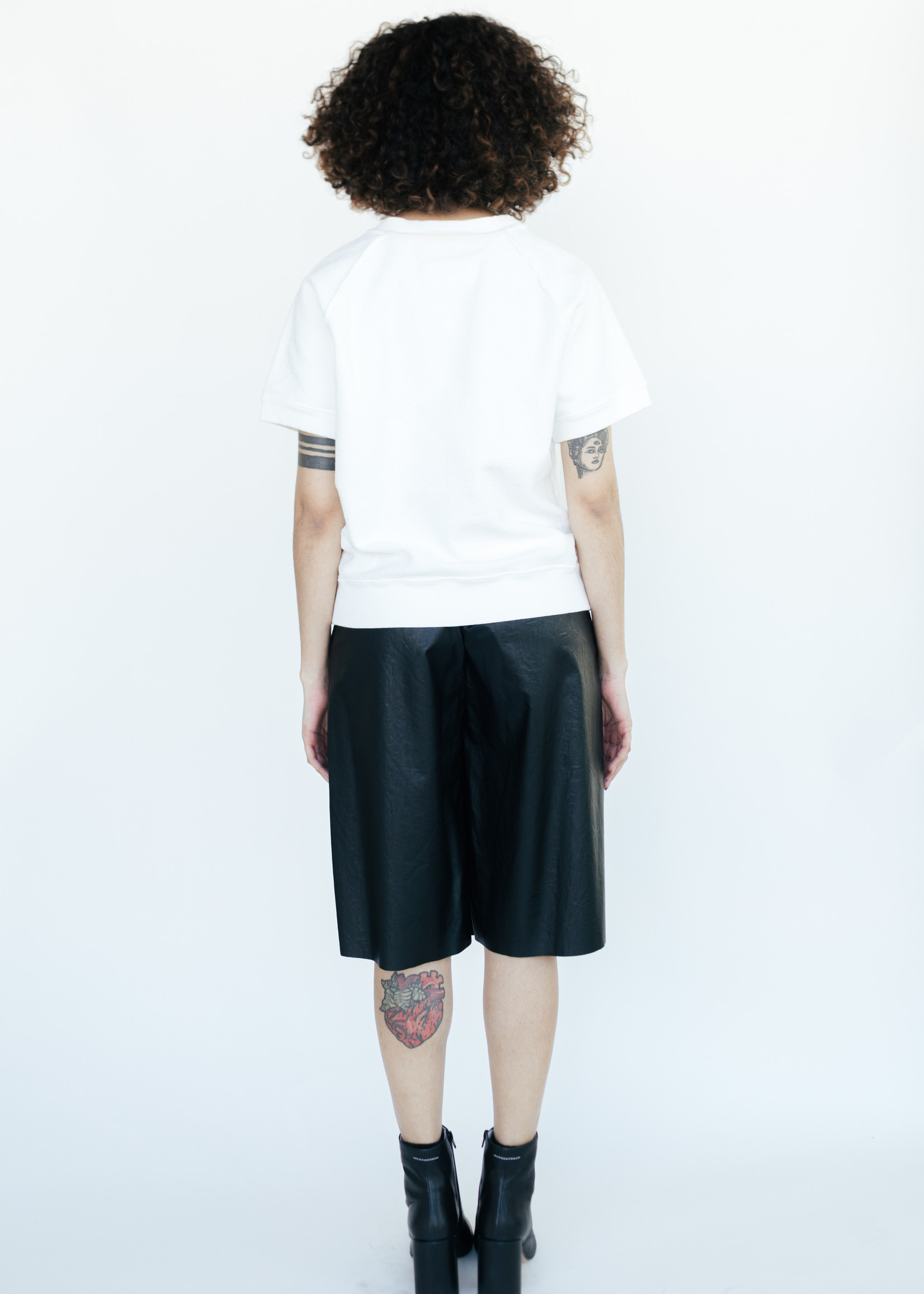 MM6 MAISON MARGIELA Studio Graphic Sweatshirt in White
