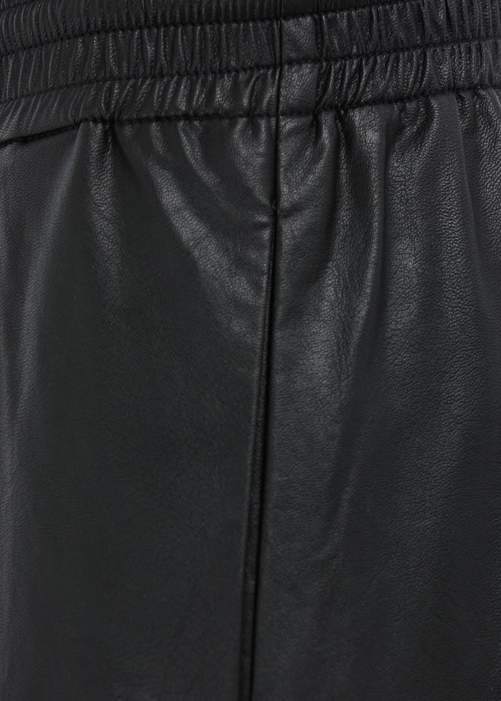 MM6 MAISON MARGIELA Vegan Leather Basketball Shorts