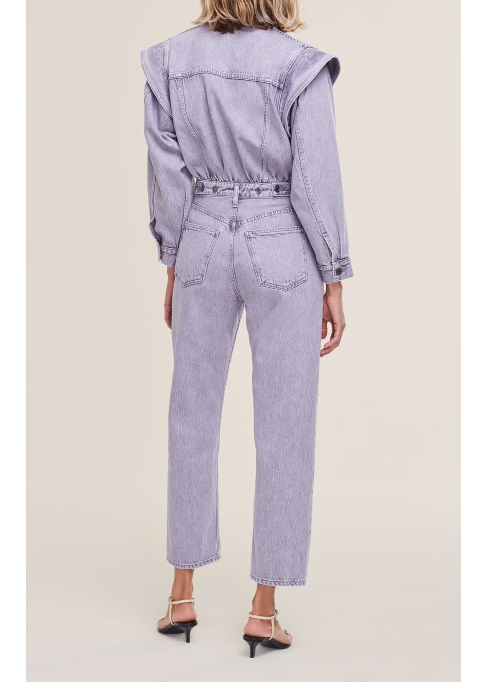 AGOLDE Reyna Jumpsuit in Ashberry
