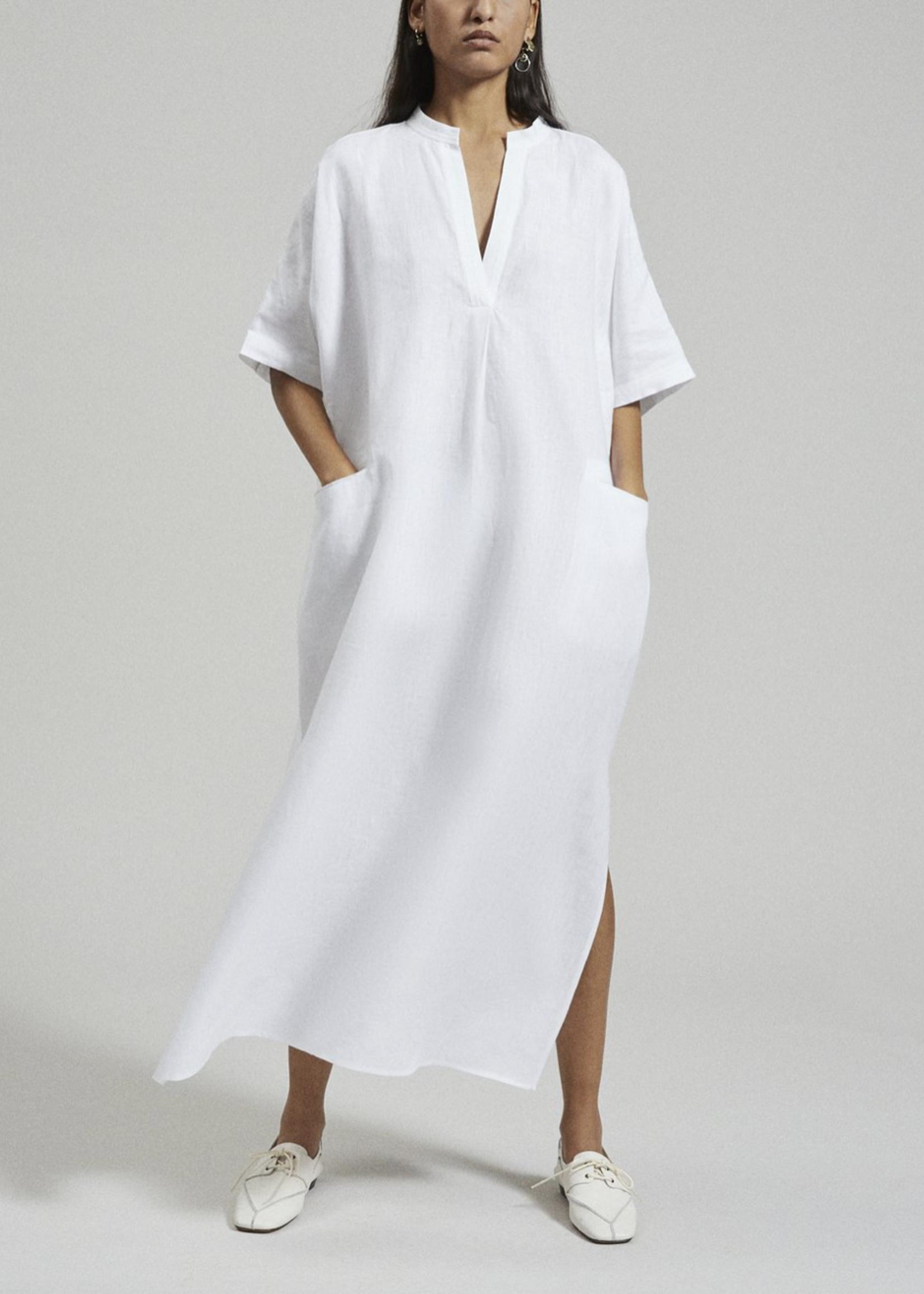 Rachel Comey Culver Linen Dress in White