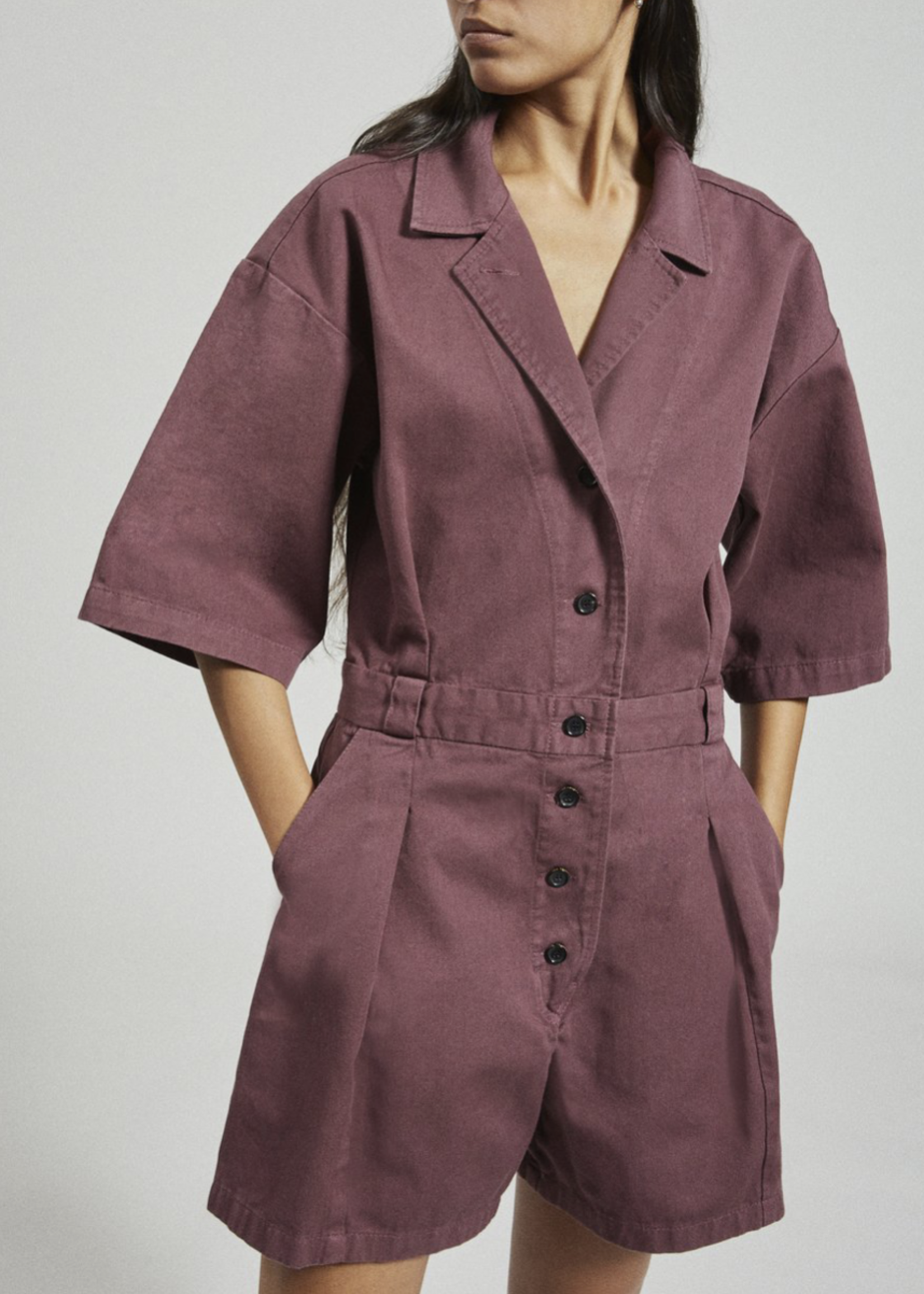 Rachel Comey Larch Shortsuit in Clay
