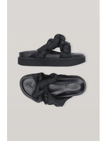 GANNI GANNI Knotted Platform Sandal in Black