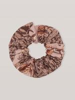 GANNI GANNI Floral Scrunchie in Fossil