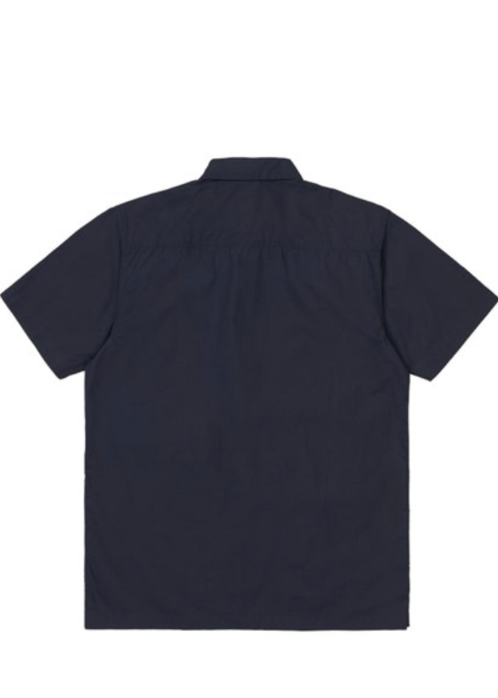Carhartt Work In Progress Creek Multi-Pocket Shirt in Navy