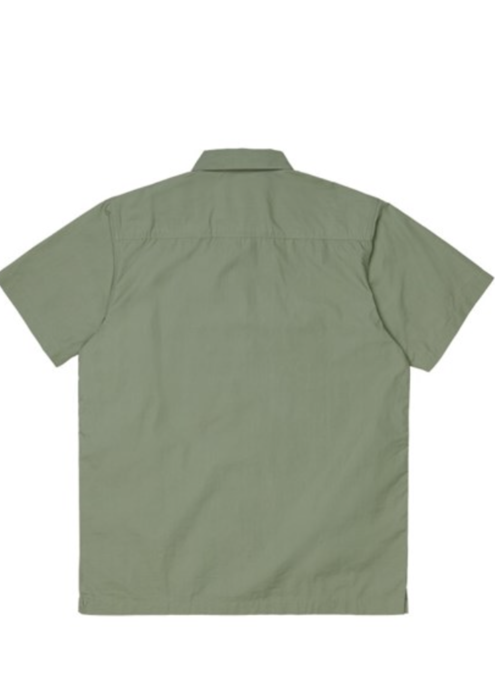 Carhartt Work In Progress Creek Multi-Pocket Shirt in Dollar Green