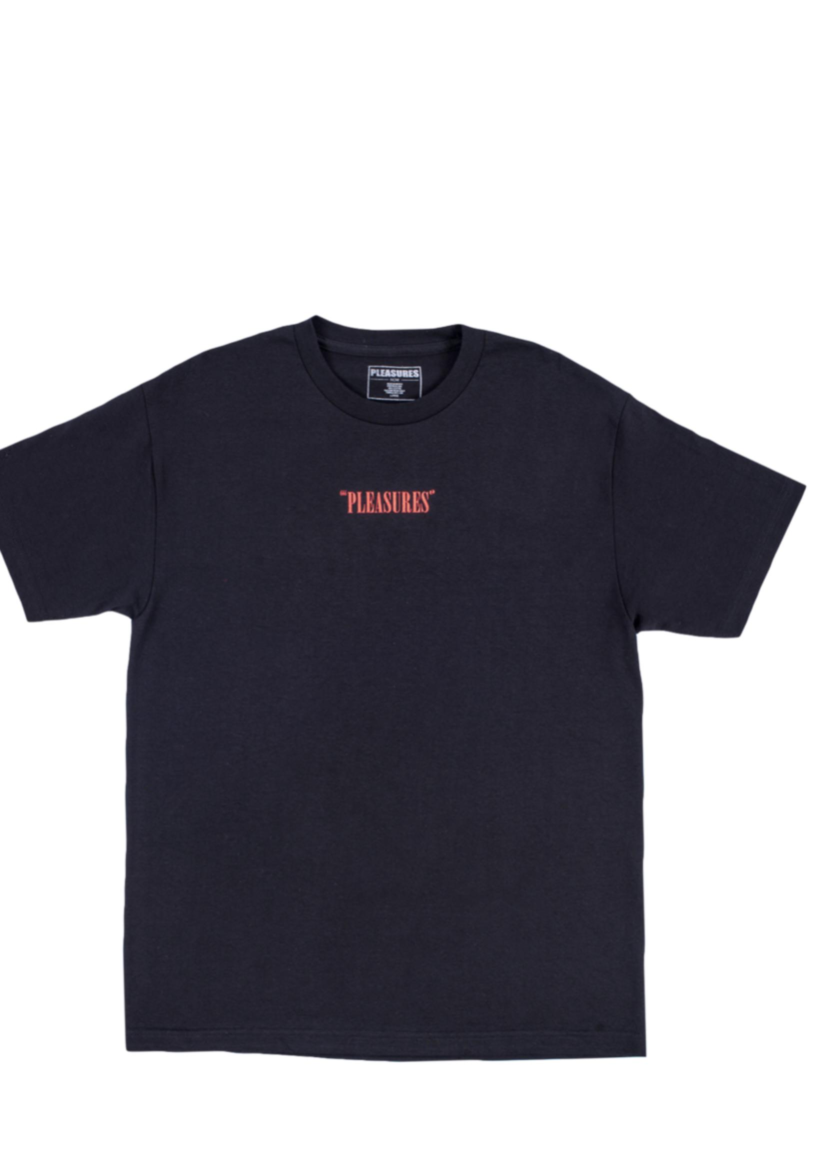 PLEASURES Freaks T-shirt in Black