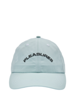 PLEASURES Destiny Nylon Polo Cap in Light Blue