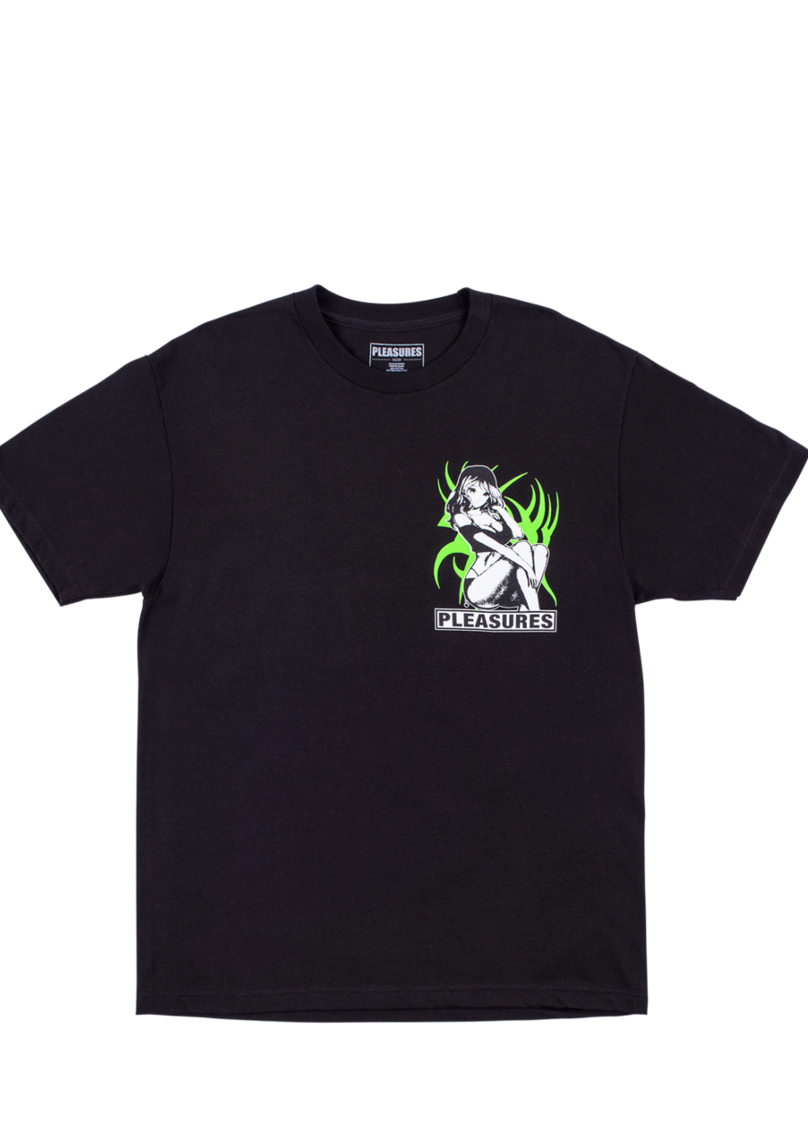 PLEASURES Bossy T-shirt in Black