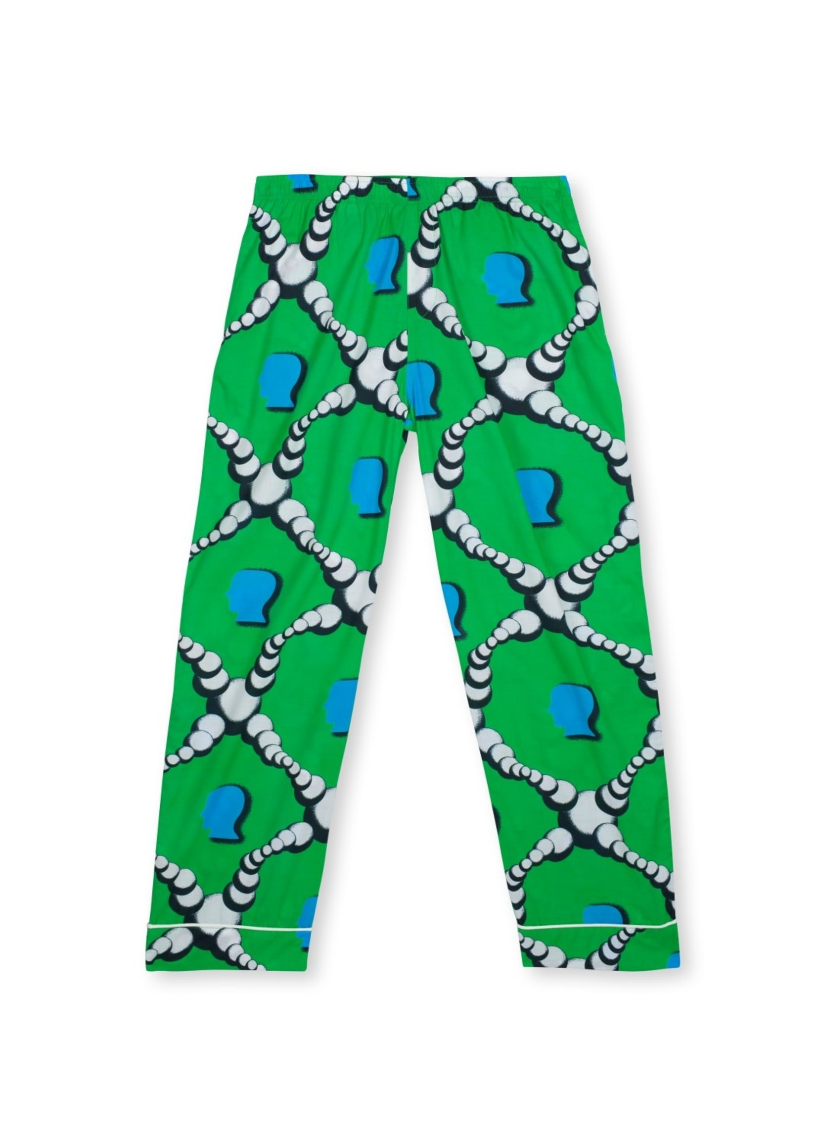 Brain Dead Bubble Pajama Pant in Green