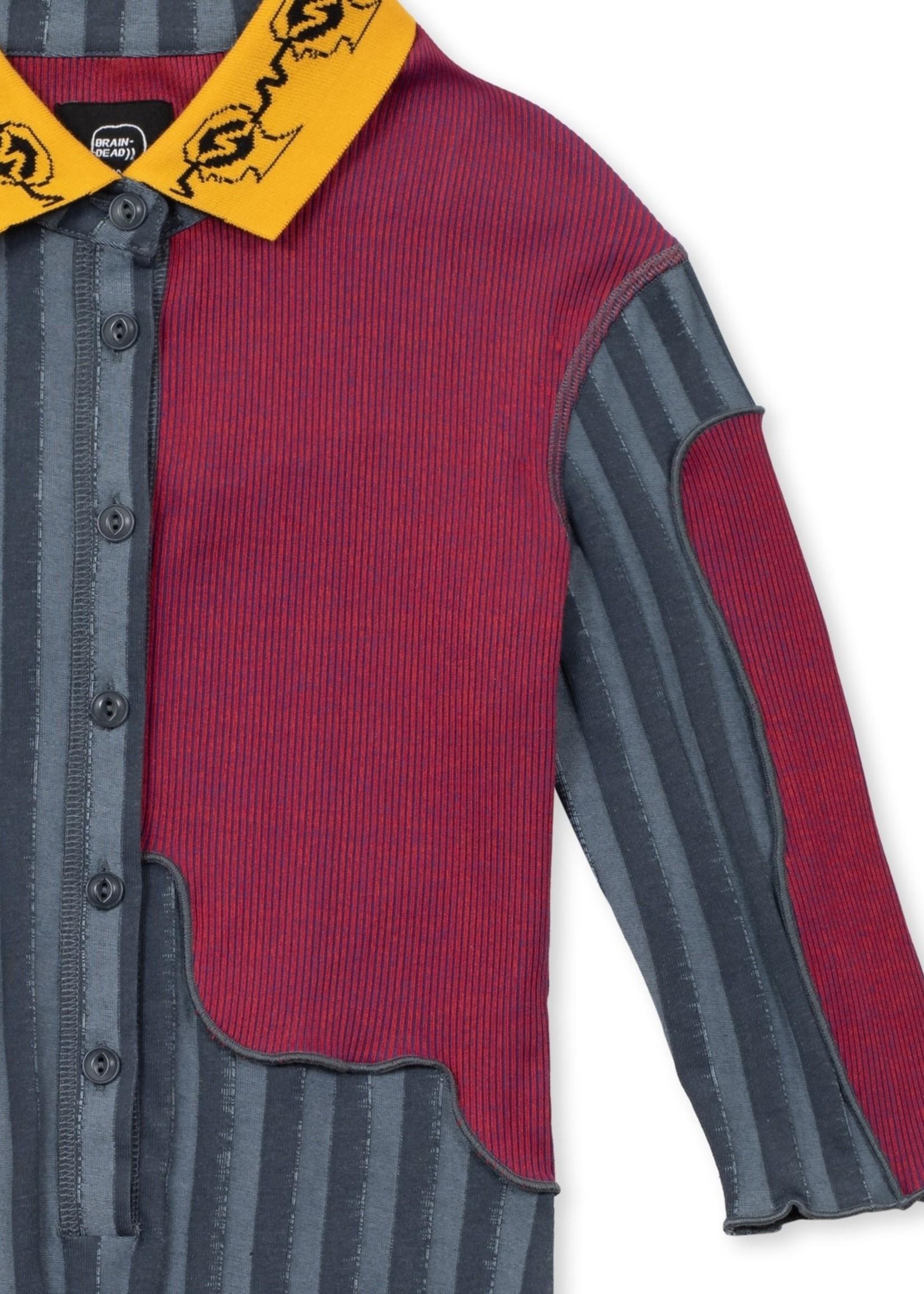 Brain Dead Women's Polo Paneled Bodysuit