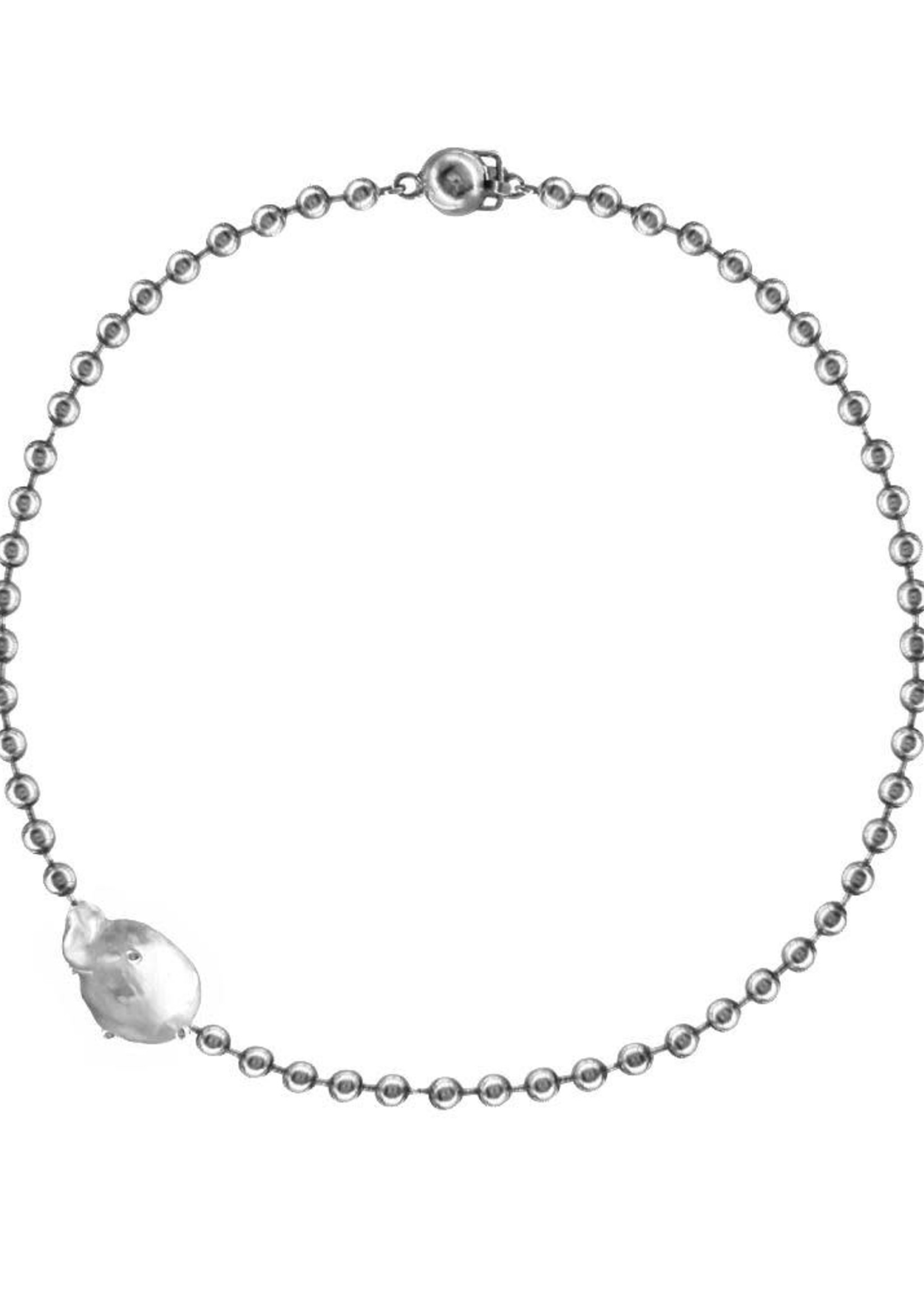 VARON Perlita Necklace in Sterling Silver