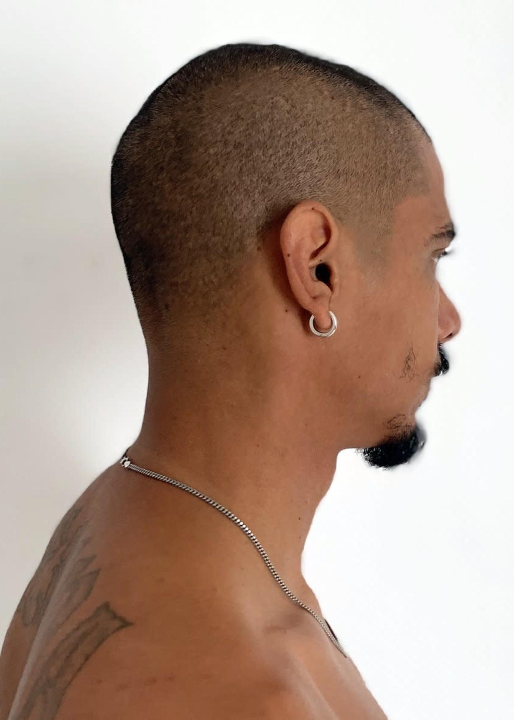 VARON Single Aro Earring in Sterling Silver