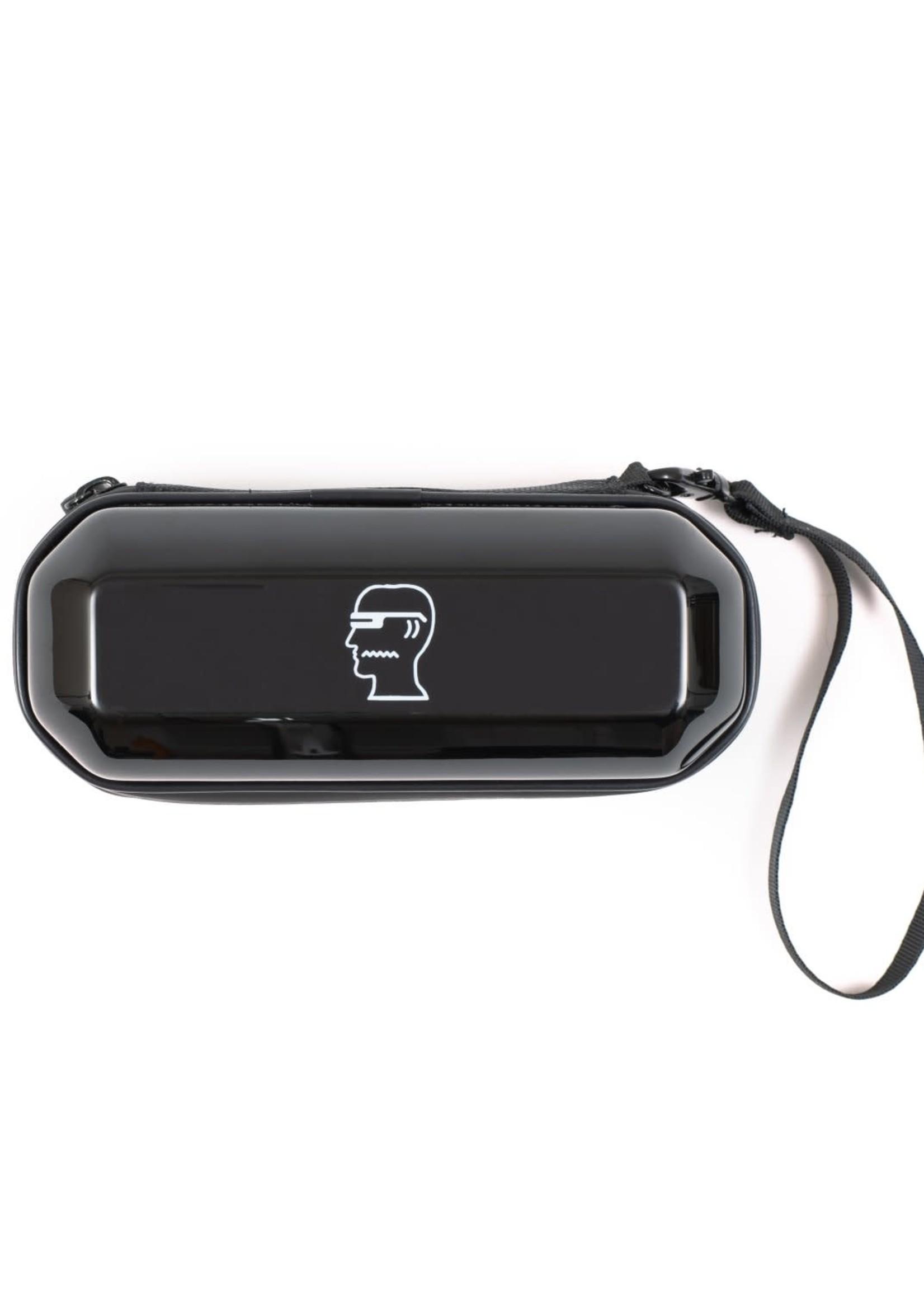 Brain Dead Mutant Sunglasses in Black / Silver Reflective