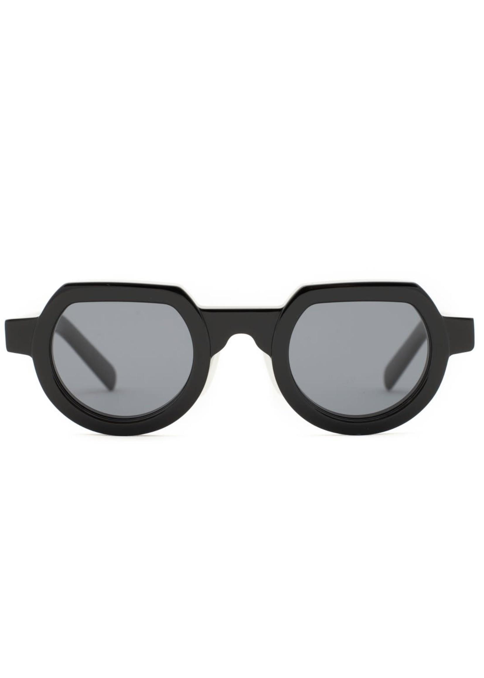 Brain Dead Tani Sunglasses in Black / Black