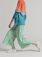 Rachel Comey Absolute Pant in Green and White Stripe
