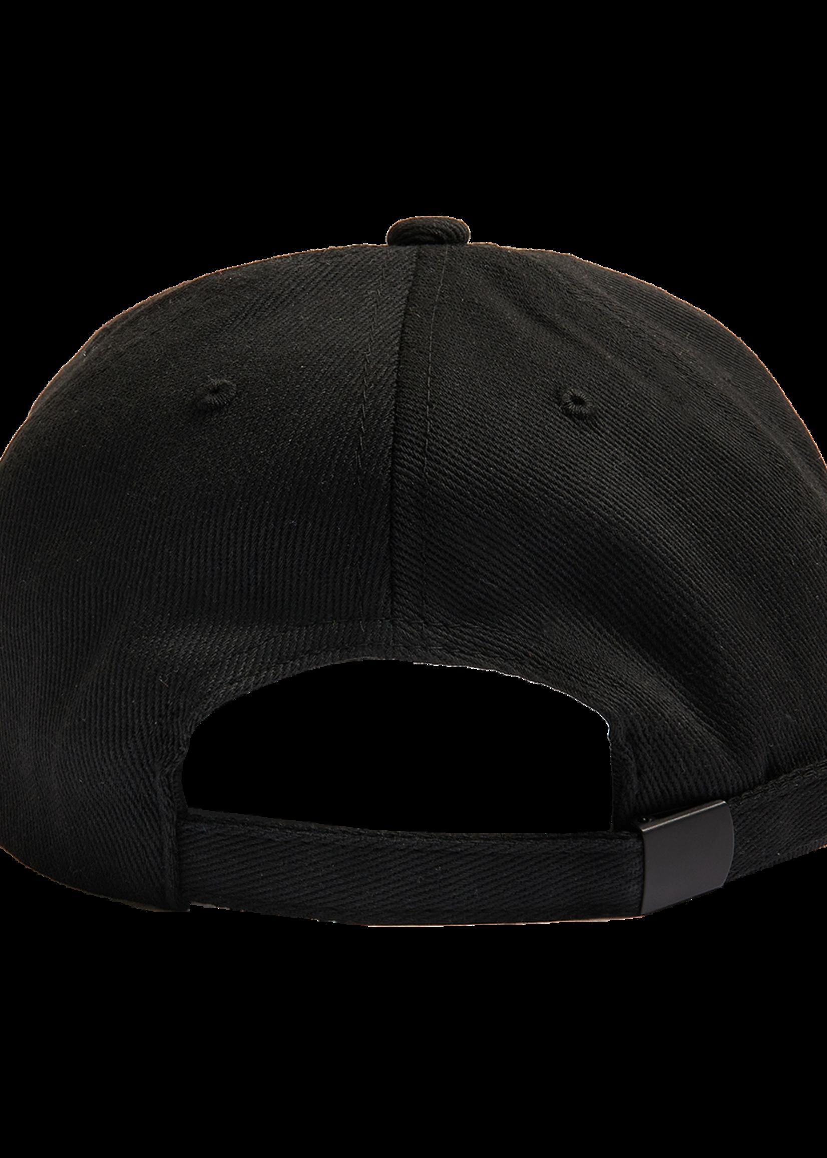 PLEASURES Good Time Baseball Cap in Black