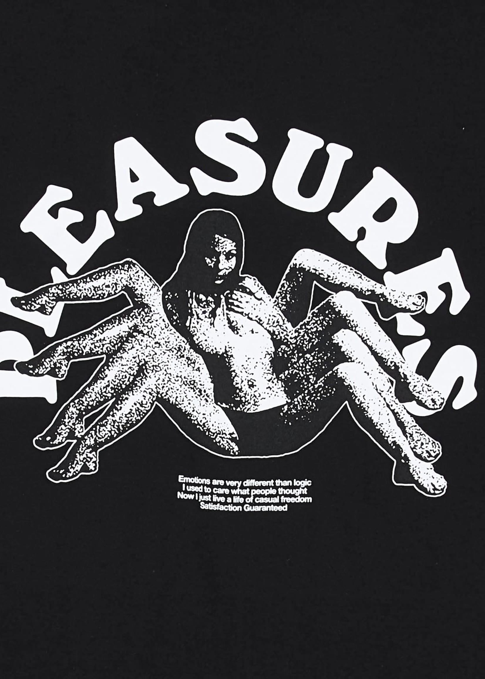 PLEASURES Logic T-shirt in Black