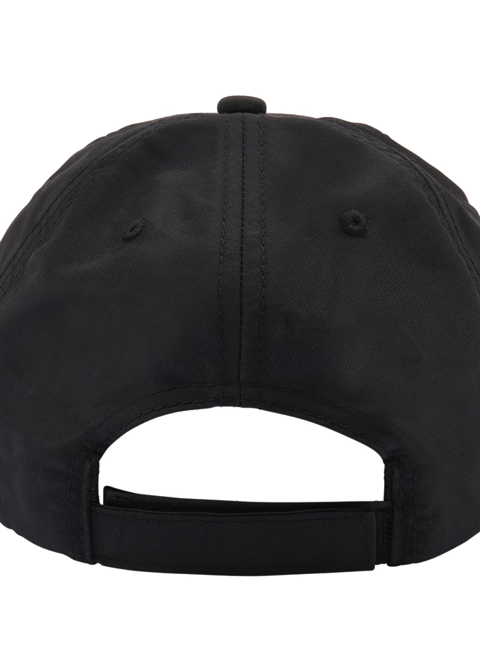 PLEASURES Script Logo Nylon Cap in Black