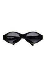 PLEASURES AKILA x PLEASURES Reflex Sunglasses in Black